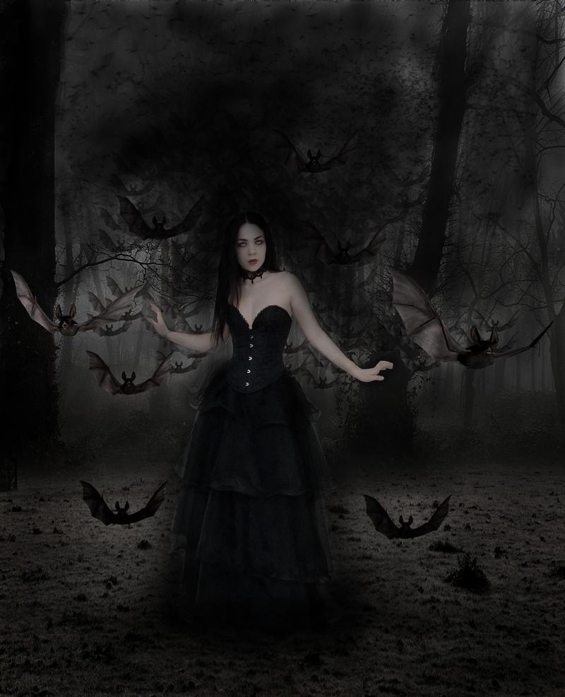 Mistress of the Bats by willowdiamond