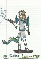 Ravenclaw Academy: Zelina Lebroom by JackunzelLuver