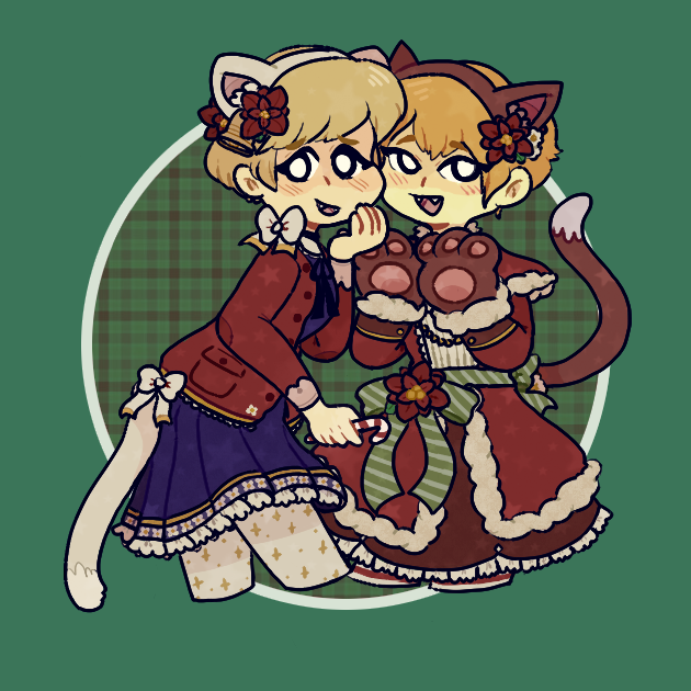 merry christmas, nya! by cactuscakes