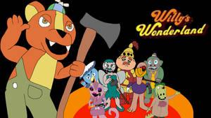 New Willys wonderland movie poster