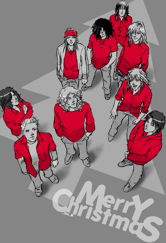 christmas 08 by thenizu - Led Zeppelin Christmas