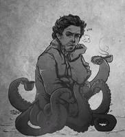 tentacle holmes by thenizu