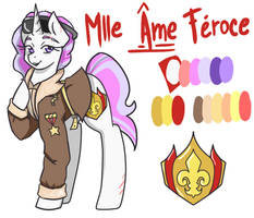 Mlle Ame Feroce... by Joint-ParodiCa
