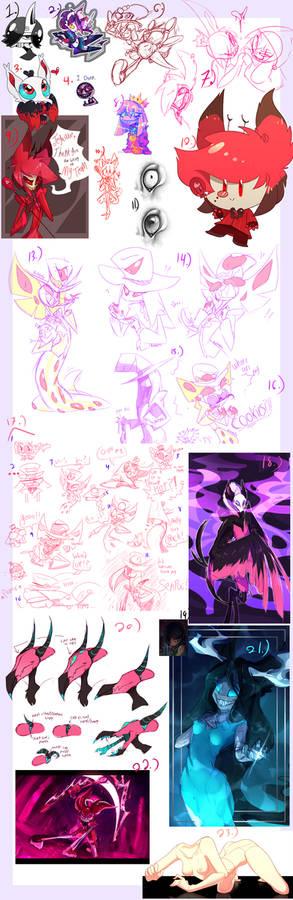 Sketch Dump 18-19-20
