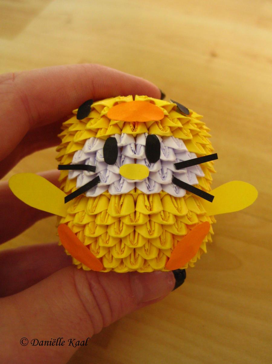 Hello Kitty In DuckSuit by Delinlea