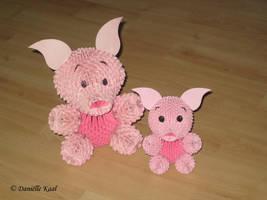 Piglets by Delinlea