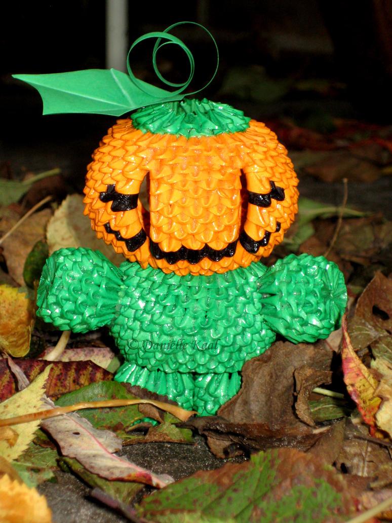 Mr. Pumpkin by Delinlea