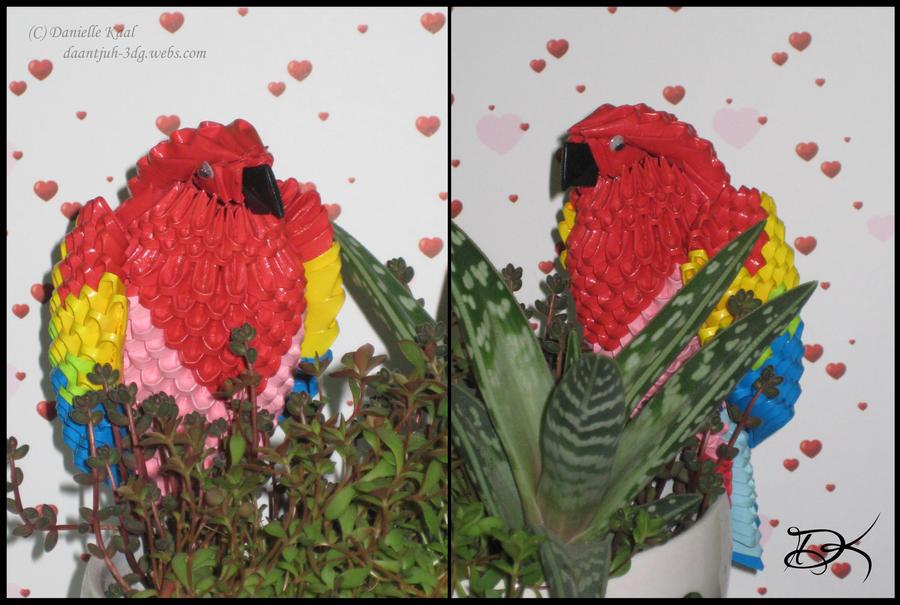Parrot by Delinlea