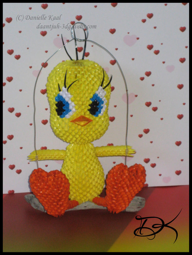 Tweety by Delinlea
