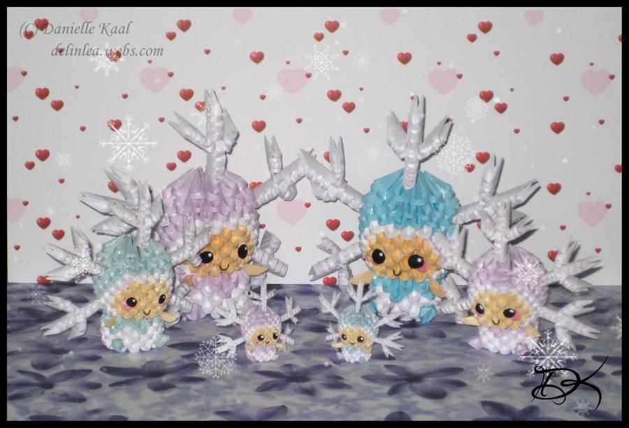 SnowflakeKid Family by Delinlea