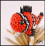 ClownFish -3D Origami-