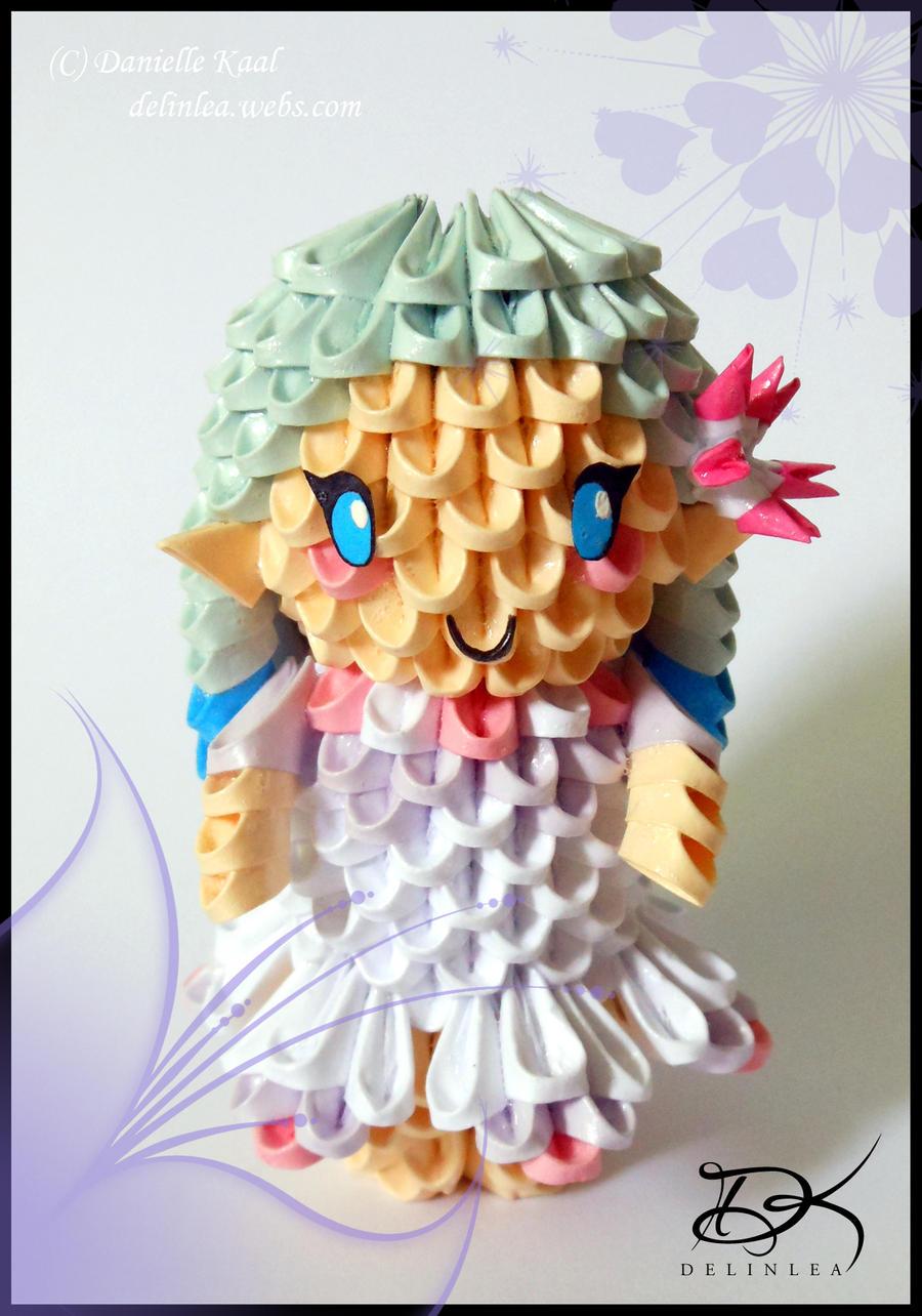 Birthday fairy 3d origami by delinlea on deviantart birthday fairy 3d origami by delinlea jeuxipadfo Choice Image