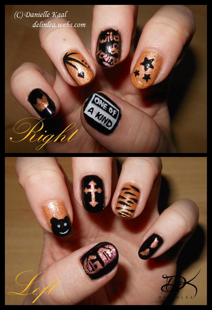 Nail Art G Dragon By Delinlea On Deviantart