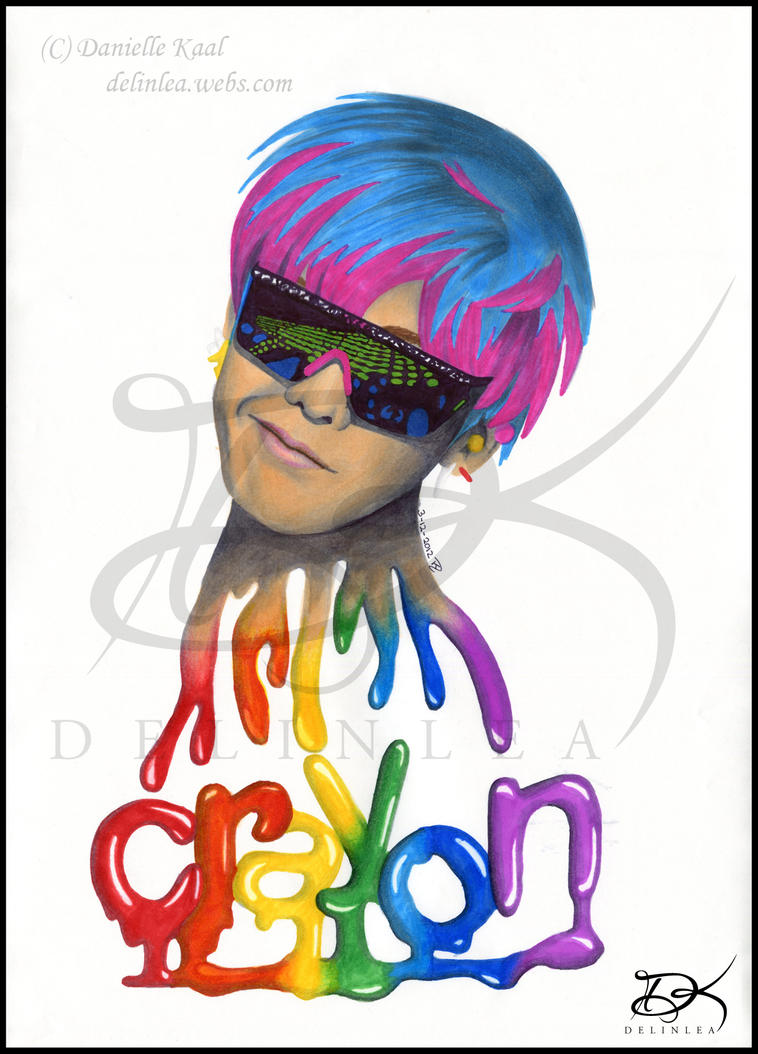 Markers G-Dragon CRAYON by  G Dragon Smile Crayon
