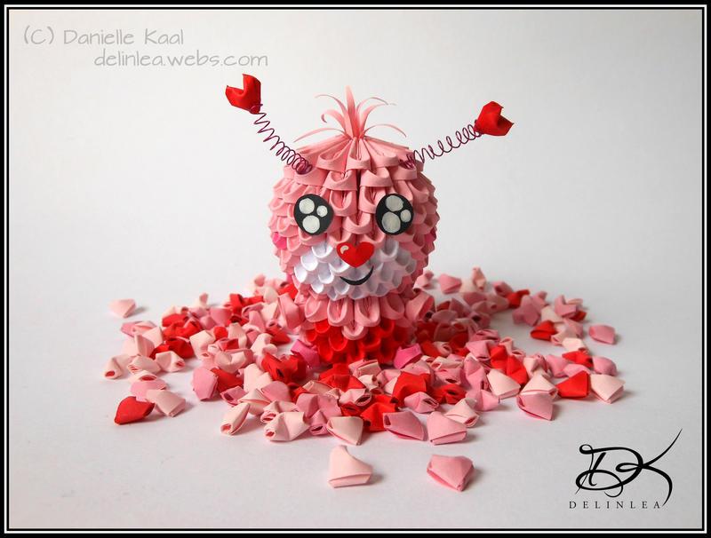 Valentina  [ 3D Origami ] by Delinlea