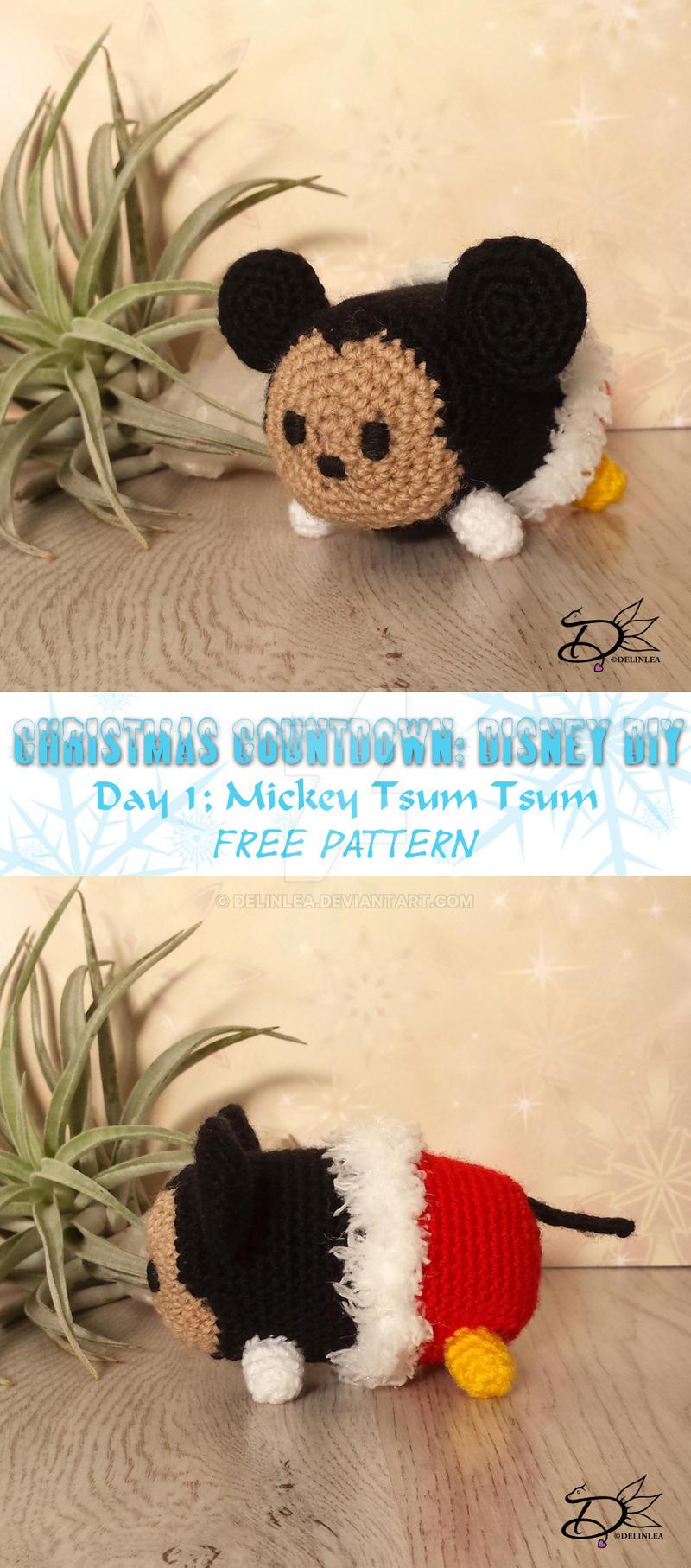 Crochet Mickey Mouse Patterns, Hat, Amigurumi ⋆ DIY Crafts | 1814x800