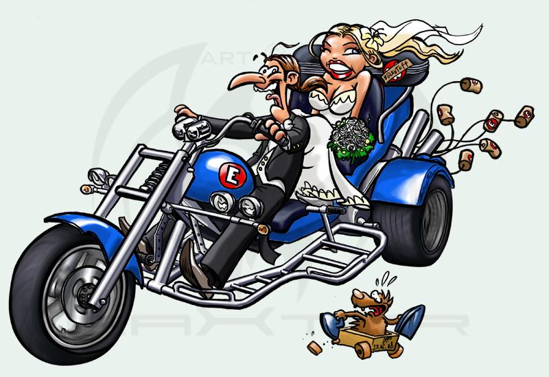 Werner Cartoon