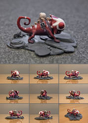 The Defense 4 courier sculpt - Cyril the Syrmeleon