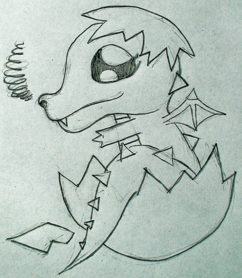 Baby Dragon by ThousandWordsToSay on DeviantArt