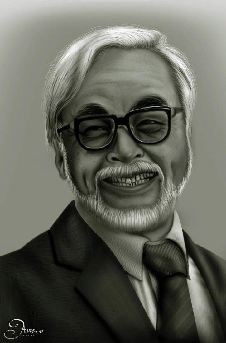 Mr.Hayao Miyasaki by anne-arte
