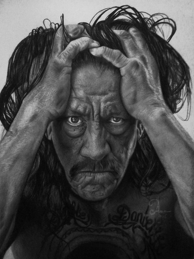 Mr. Danny Trejo by anne-arte