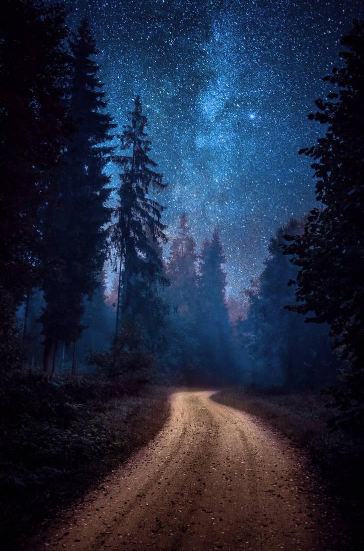 Winding road by HendrikMandla