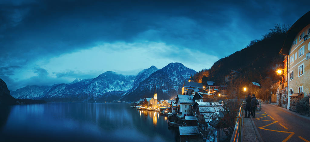 Panorama of Hallstatt by HendrikMandla