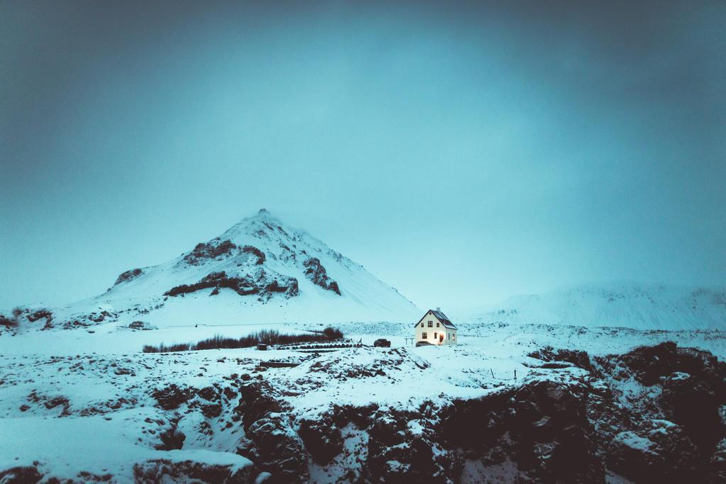 A house and a mountain by HendrikMandla