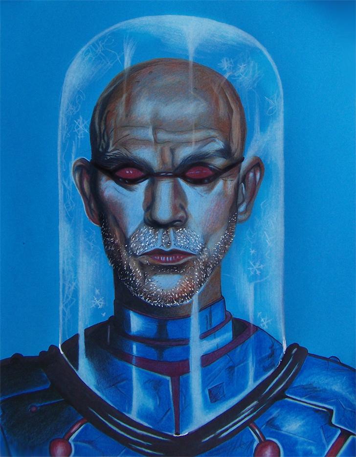 John Malkovich as Mr. Freeze by RawGraff
