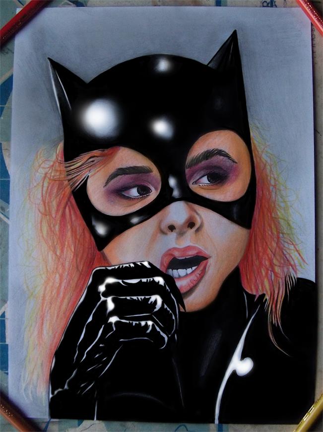Chole Grace Moretz as Catwoman by RawGraff