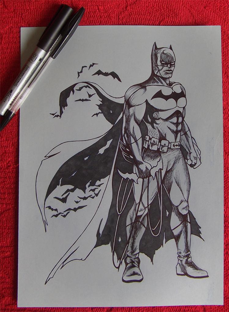 JL: Batman by RawGraff