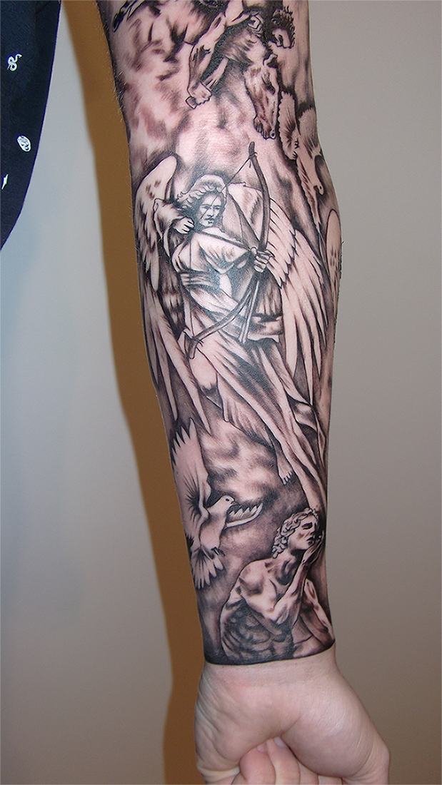 Warrior angel 2 by RawGraff