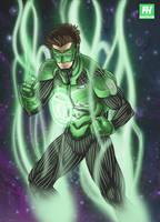 Green Lantern by Fredhild