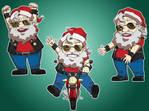 Santa Claus rider