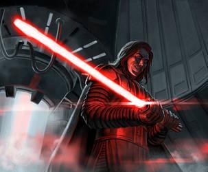 Kylo Ren - Star Wars Episode VIII - The Last Jedi by Fredhild