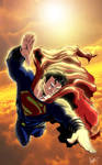 Man of steel Sky MLG13 Art by Renato Guedes cover
