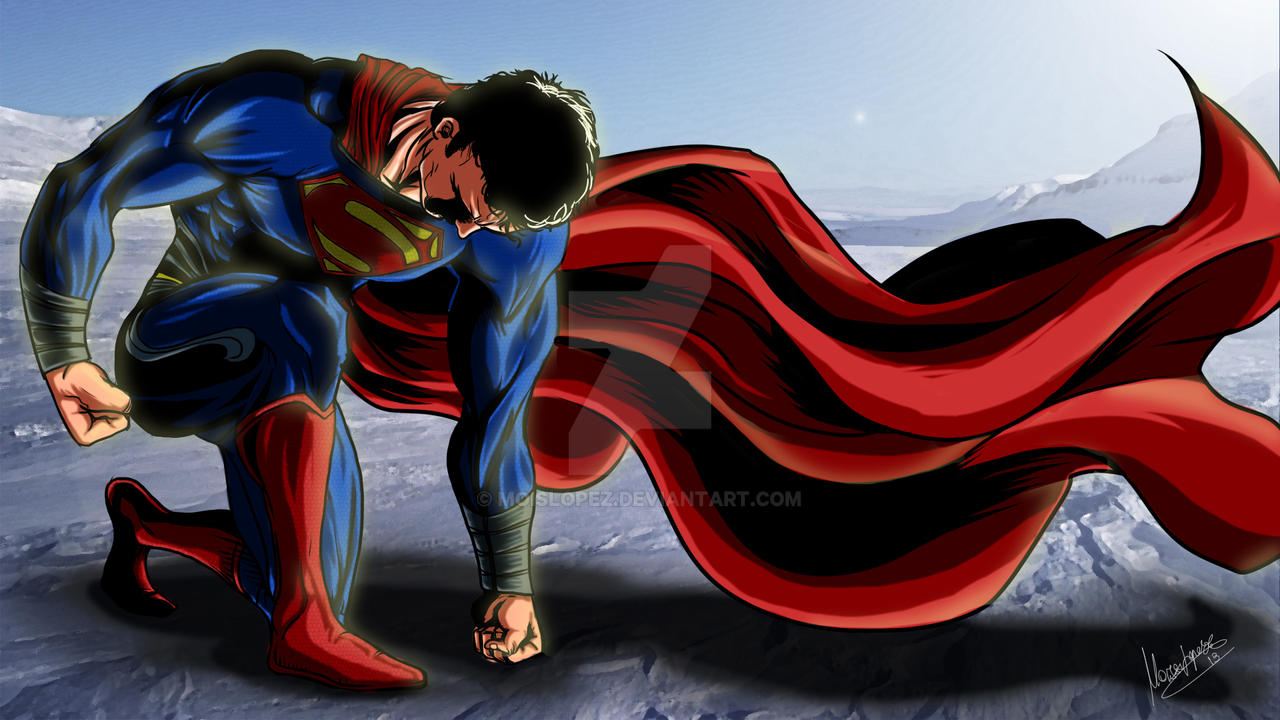 Man of Steel by MLG13 by Moislopez