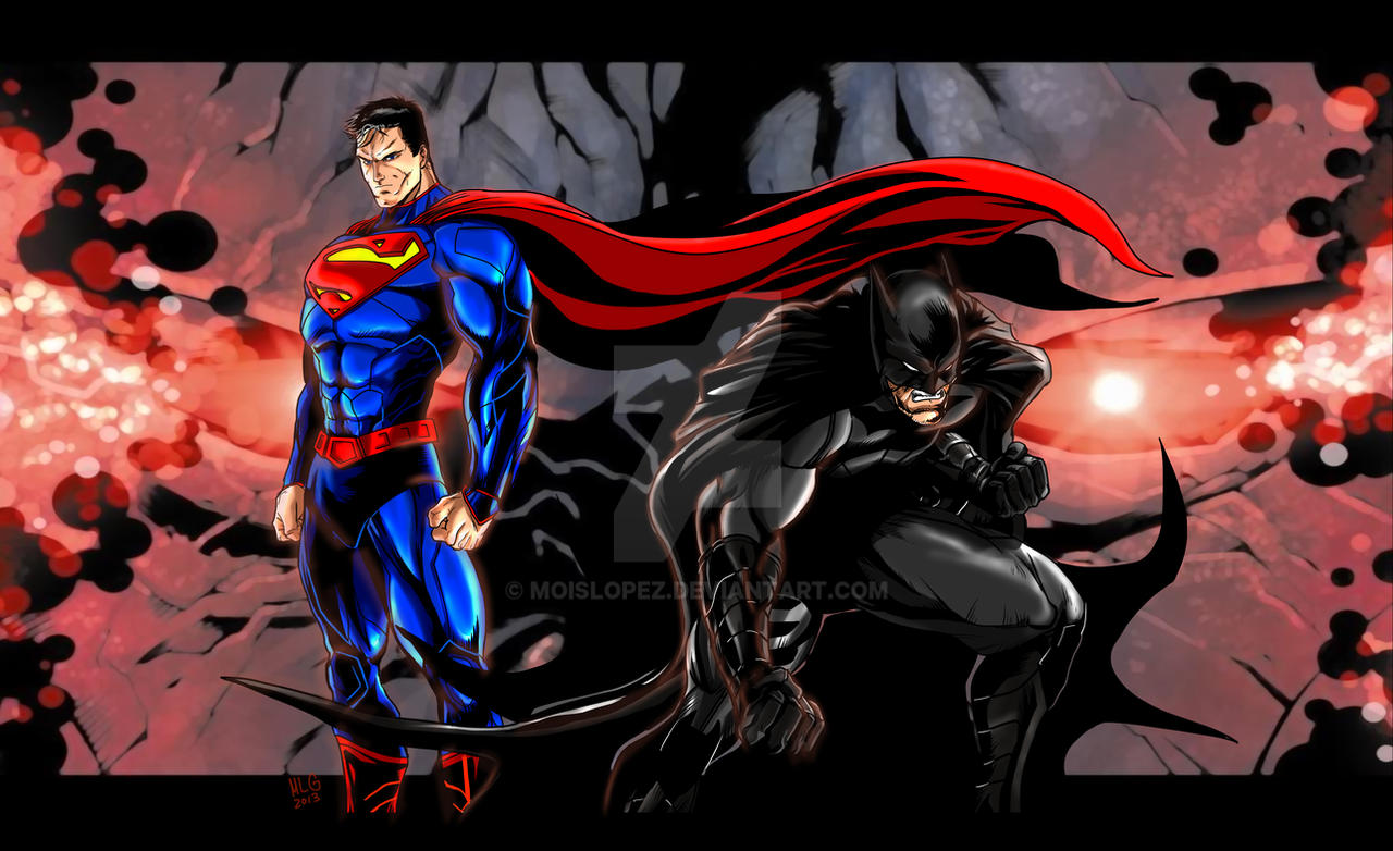 Batman Superman Darkseid new 52 - MLG13 by Moislopez on ...