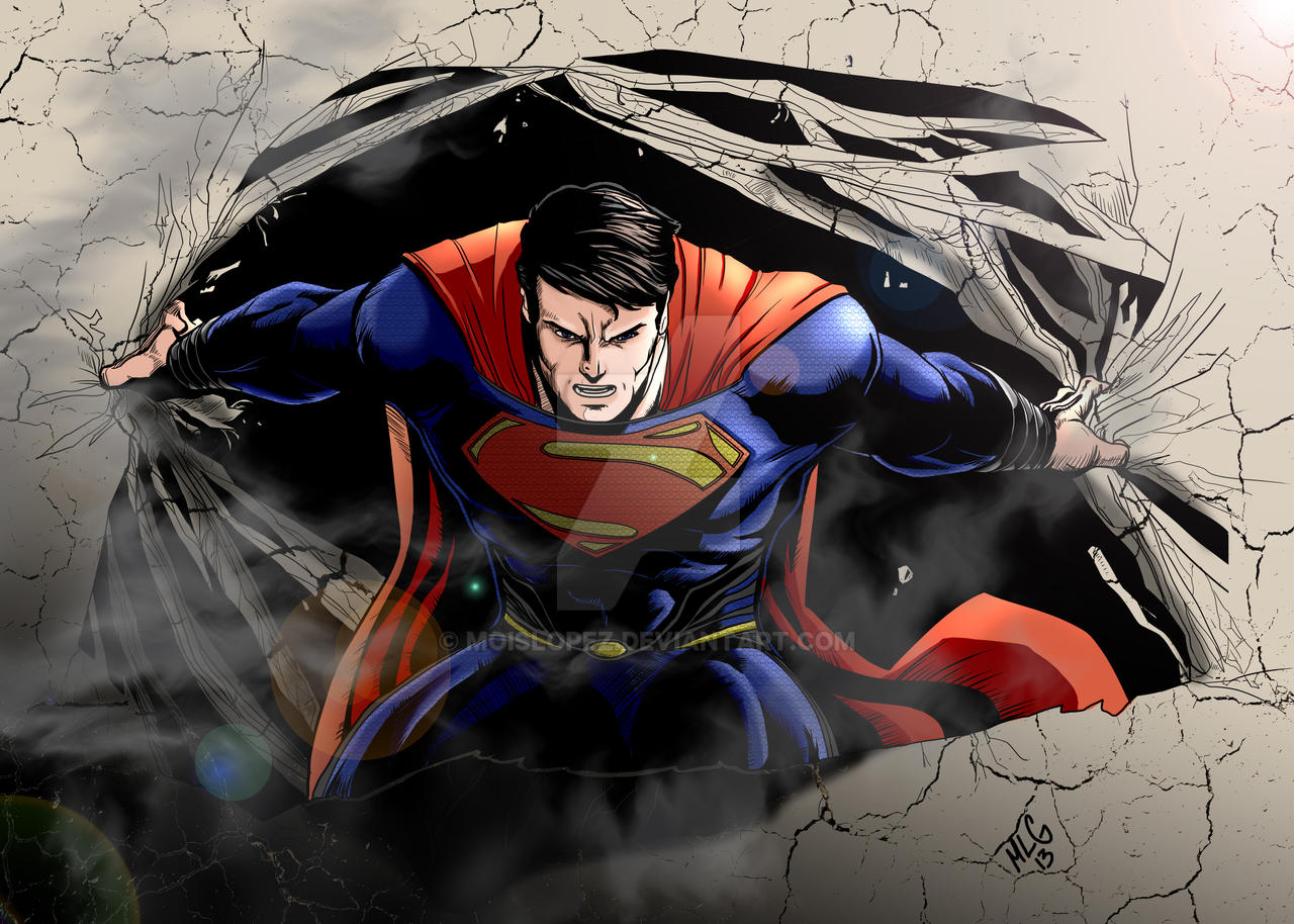 Man Of Steel is here!!! MLG13 by Moislopez