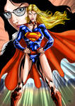 Supergirl my version of New 52 - MLG14