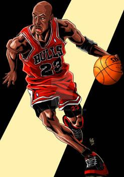 Michael Jordan 23 - GOAT - MLG15