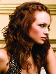 Curly Forward French Plait