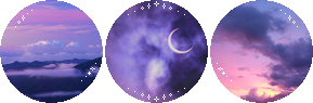 cute sky circle divider f2u