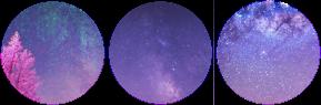 purple galaxy circle divider f2u
