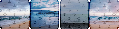 dull ocean anchor square divider f2u by cal-vain