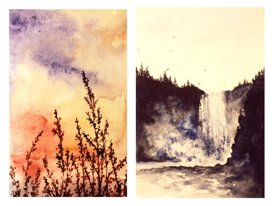 landscapes #2 by SokolovaJu