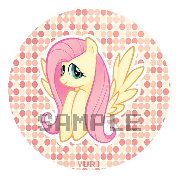 Pony badge set by yuri4boris