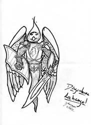 The Archangel Paladin of Bahamut