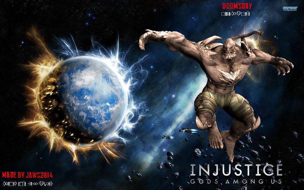 Injustice Doomsday Wallpaper By Jakeformer On Deviantart