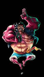 4th Gear Luffy